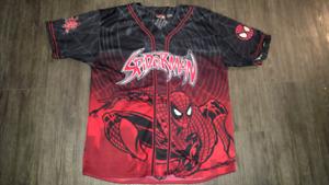 Rare spiderman jersey