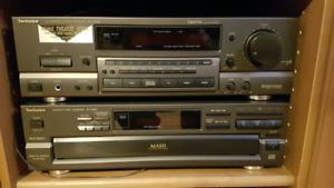 Amplificateur technique et lecteur cd 5 disques