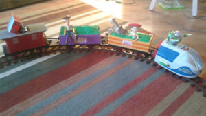 Talking Toy Story train track & 3D camera