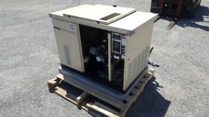 Standby emergency power generator natural gas