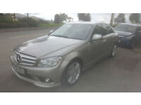 2008 Mercedes-Benz C220 CDI AMG Sport Automatic * 64,000 Miles * FSH * Leather
