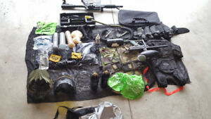 2 paintball guns 3000x paintballs and everything you need..