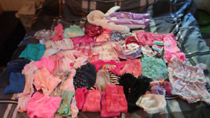 6-12 months girls clothing lot $40