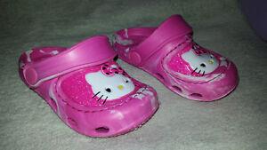Size 5 Hello Kitty Crocs St. John's Newfoundland image 1