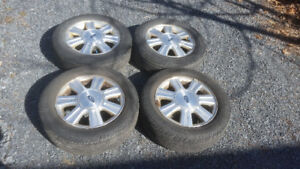 Wheels and tires for Ford Taurus