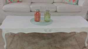 Beautiful shabby chic coffee table and end Coffee