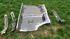68-72 gm chevelle trunk pans and braces