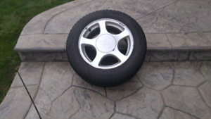Set of 4 Mustang Winter Rims and Tires