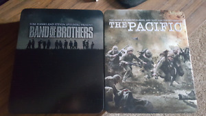 Band of brothers and the Pacific blu ray