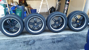 17 INCH SACCHI SUMMER TIRES AND WHEELS. Cambridge Kitchener Area image 9
