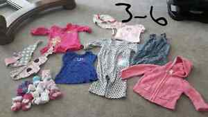 Girls 3-6month clothing
