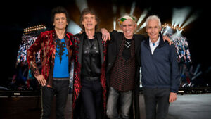 ROLLING STONES CANADA CONCERT- VIP PAINT IT BLACK TICKETS