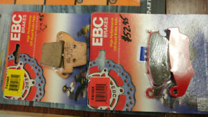 New in package ebc brake pads.