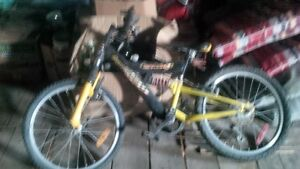 Yellow boys BMX bike for sell (Good condition)