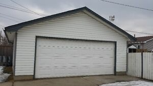 Detached Double Garage Near 82 St/ 132 Ave for Rent