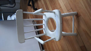 Child's antique potty chair for sale.