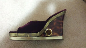Authentic Louis Vuitton Wedges Shoes size 40 Edmonton Edmonton Area image 2