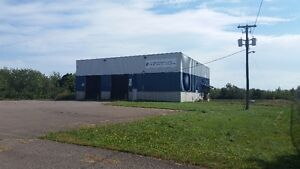 Industrial Building plus an office building and 5 acres of land