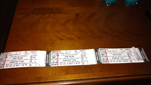 Selling 3 tickets for Iron Maiden in Toronto on July 15, 2017