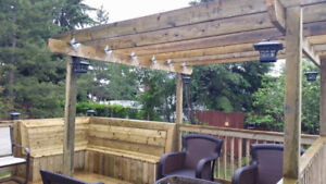 Need a new deck or fence this summer? We give FREE quotes!
