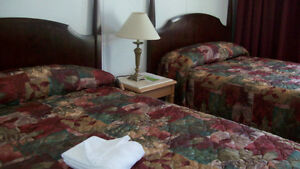 motel rooms clean and near to everything in Gatineau, winterlude