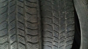 WINTER TIRES TO GIVE AWAY - 185 65 14