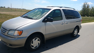 "For Sale ""2002 Toyota Sienna """