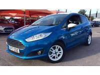 2017 Ford Fiesta 1.25 82 Zetec Blue 3dr Manual Petrol Hatchback