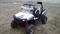 2012 Polaris 900 RZR XP, Exc Cond., Windshield, Roof, 2 Brothers