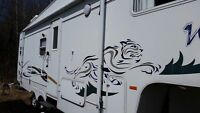 2002 forest river 5th wheel!