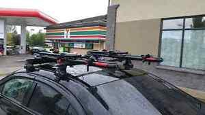 2 yakima highroller bike rack