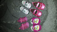 Baby Girls Lot of Size 2 shoes