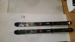 K2 Side Seth skis 181cm with touring bindings