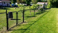 Chain Link Fence Construction
