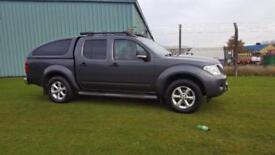 2012 12 PLATE Nissan Navara 2.5dCi Tekna 4X4 D-CAB PICK UP, 116K MILES
