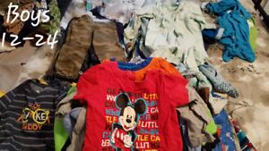Boys clothes 12-24 months