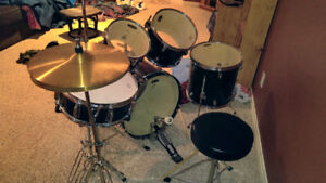 Midnight Blue Tornado Drum Set