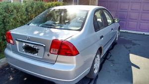 2001 Honda Civic Sedan used very good condition $1500 only asits