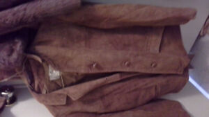 Craft/ scrap leather and fur.