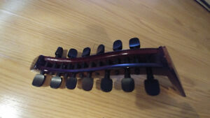 13 string oud neck.