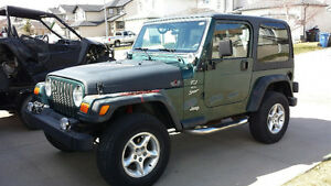 Jeep TJ FRANKENJEEP 2000