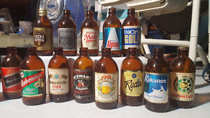 Stubby Beer Bottles and Original Cases!