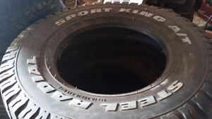 """4 """" NEW """" STEEL RADIAL SPORT KING A/T TIRES """" Peterborough Peterborough Area image 1"""