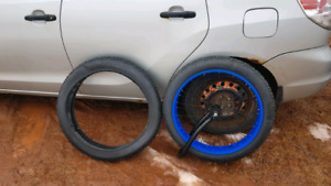 Fat bike tires and rim for sale