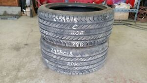 Pair of 2 Continental ProContact GX SSR (run-flat) 245/40R18 tir