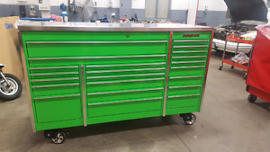 Snap on tools roller cabinet