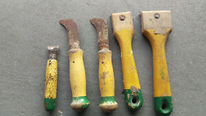 VINTAGE Richard Wood Handle Tools (from the 1970s)