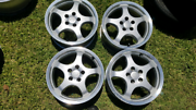 Vw golf mk3 mk4 5x100 porsche style a15x 6.5 Hamilton North Newcastle Area Preview