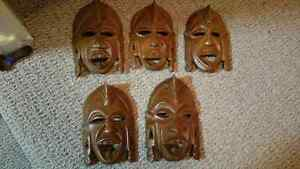 Exotic Hand crafted masks from Africa Kitchener / Waterloo Kitchener Area image 5