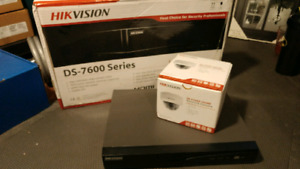Hikvision IP camera 4MP & 4 port NVR